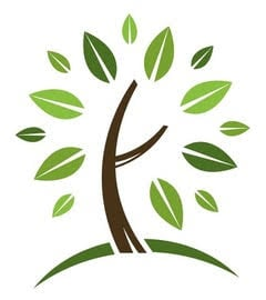 Groundwork Word and Tree Trimming logo